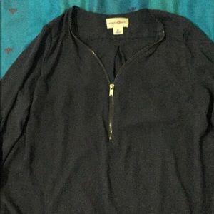 Satin(ish) blouse